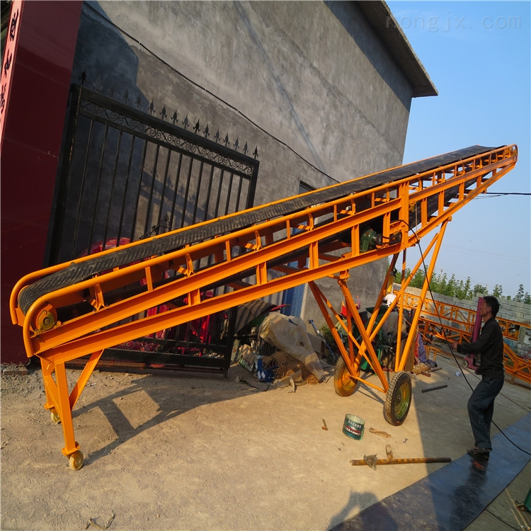 带式输送机制造商 加工定做橡胶带传送机