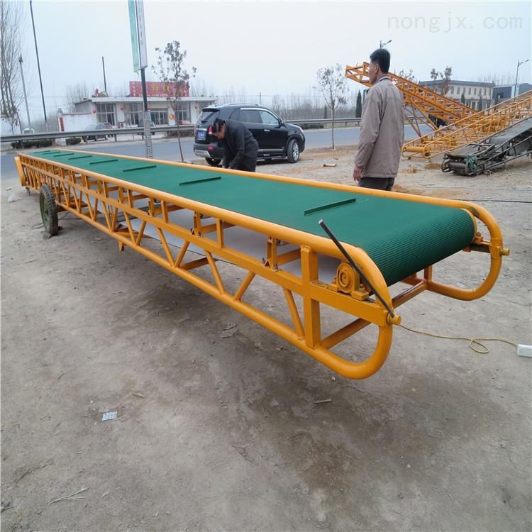 运输木箱输送机 江苏装卸车皮带机 传送带厂