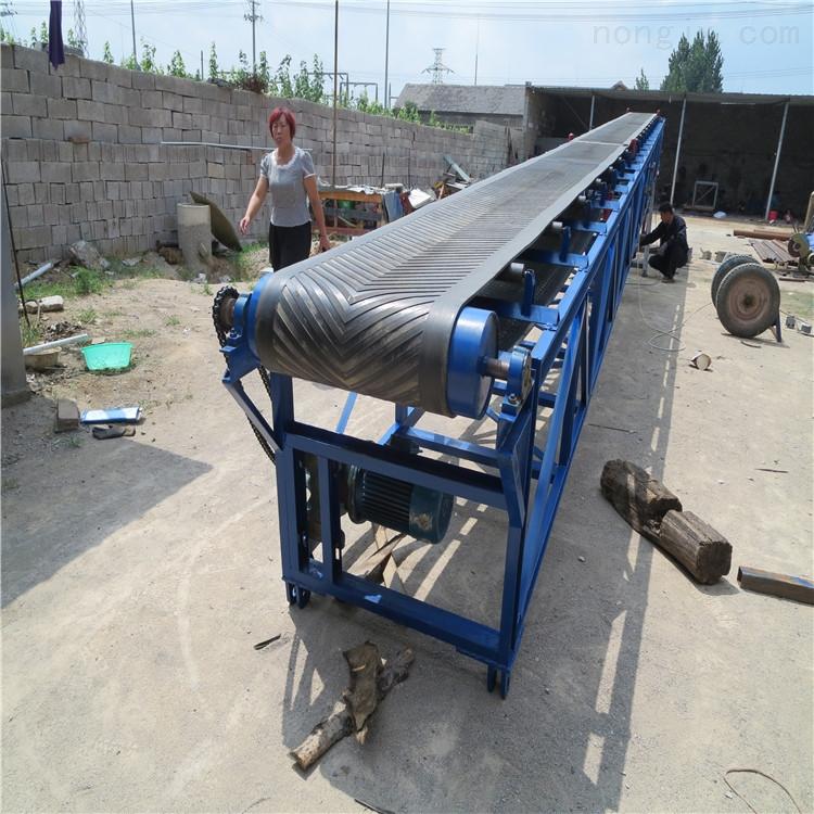 堆料装车输送机 煤场做皮带机 散料输送设备