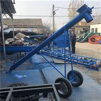 钢管提升机 加大喂料口提升管 粮食输送管