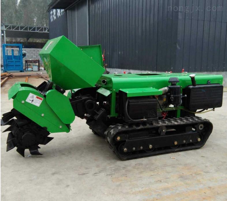 微耕机 农用汽油小型旋耕施肥机