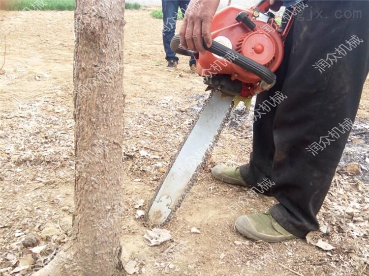苗圃园林铲树机 树木移栽机 链条挖树机