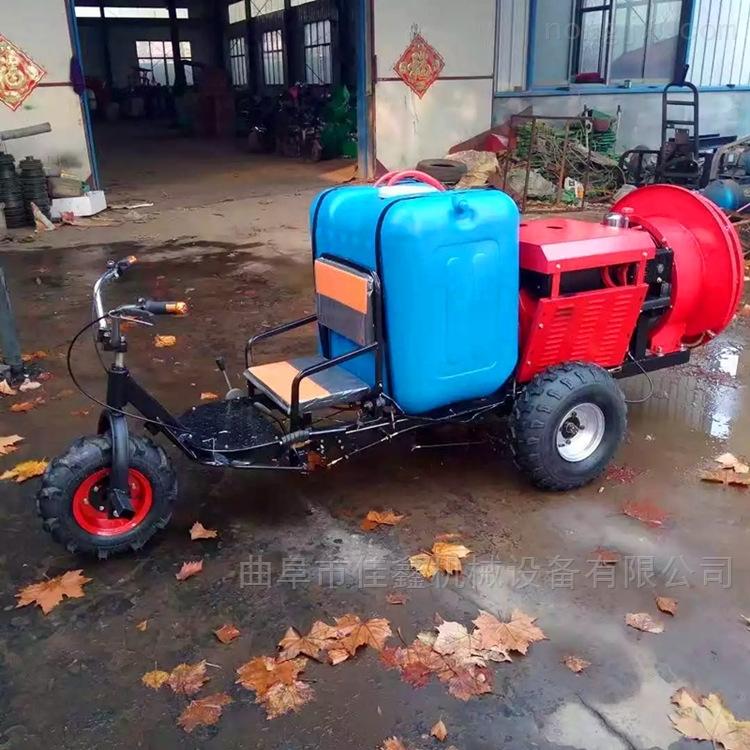 玉米地专用打药机 新款柴油消毒喷雾器