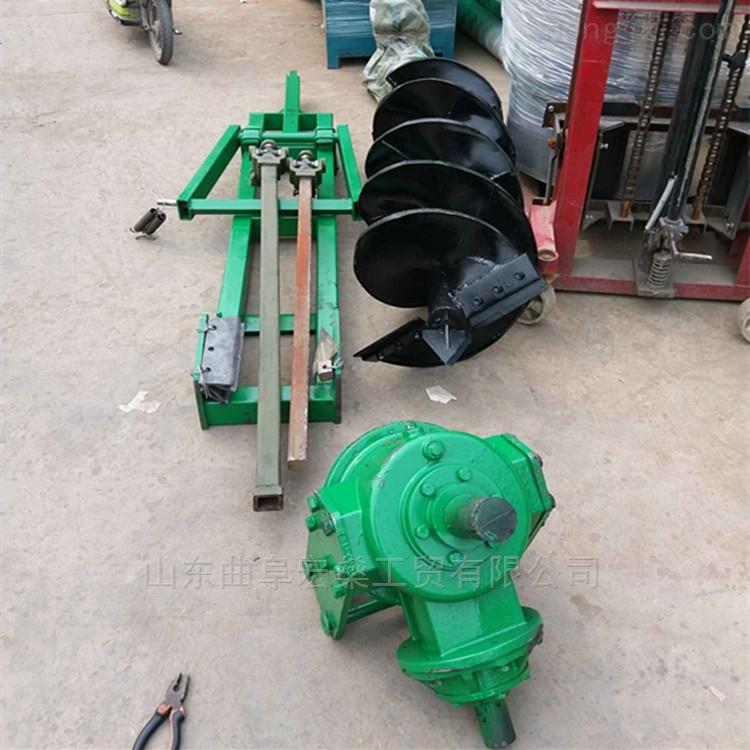 拖拉机挖树坑机 80直径大马力植树挖坑机