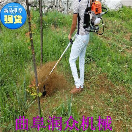 背带式除草机 背负式松土机 汽油旋耕机