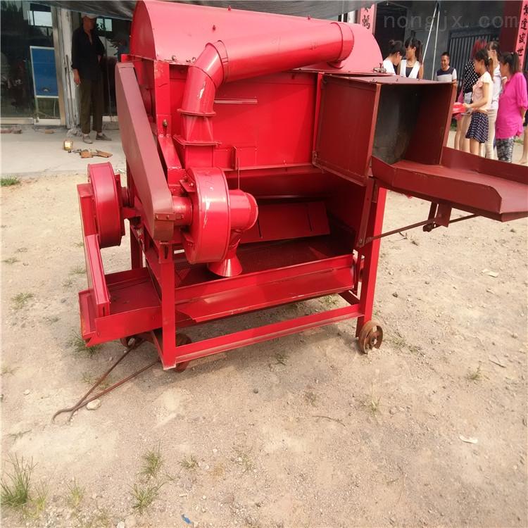 生产谷子脱粒机 家用稻谷脱皮机 小型打谷机