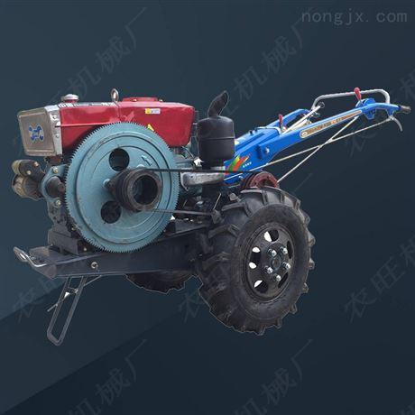 可乘坐式手扶拖拉机农用手扶自走式开沟机