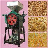 拉丝对辊式大豆挤扁机 玉米小麦压扁机