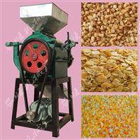 玉米小麦压扁机 电动立式花生破碎机