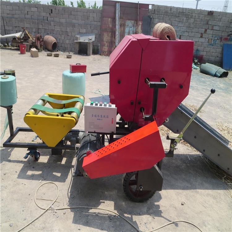 廣西青貯包膜機 干濕秸稈打包機 牧草打捆機