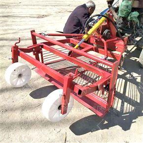 xnjx-1.2菏泽四轮拖拉机大蒜收获机 四轮前置起蒜机