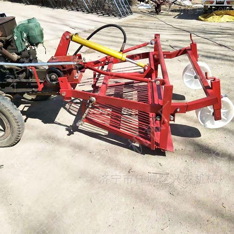 農田挖蒜機 四輪拖拉機帶動薯類收獲機