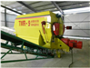 畜牧养殖大容量TMR搅拌机 卧式9立方拌草机