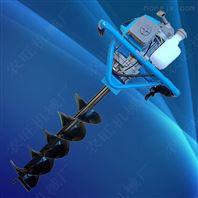 多功能手摇式挖坑机 四轮悬挂钻冰打孔机