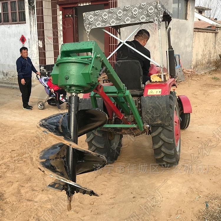 安徽硬土质植树挖坑机价格