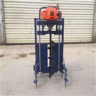移动式施肥窝打坑机 小区绿化地钻机
