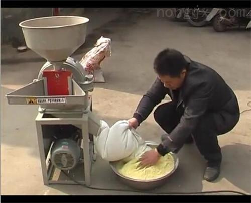 小型高粱磨粉机 水泡大米糯米粉碎机