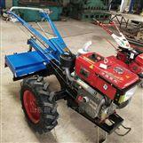 果园大棚小型开沟机 手扶拖拉机带动旋耕机