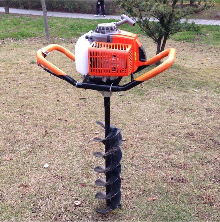 栽果树挖坑机 拖拉机立柱打坑机 刨坑钻眼机