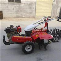 多功能柚子园培土机 柴油10马力大葱开沟机