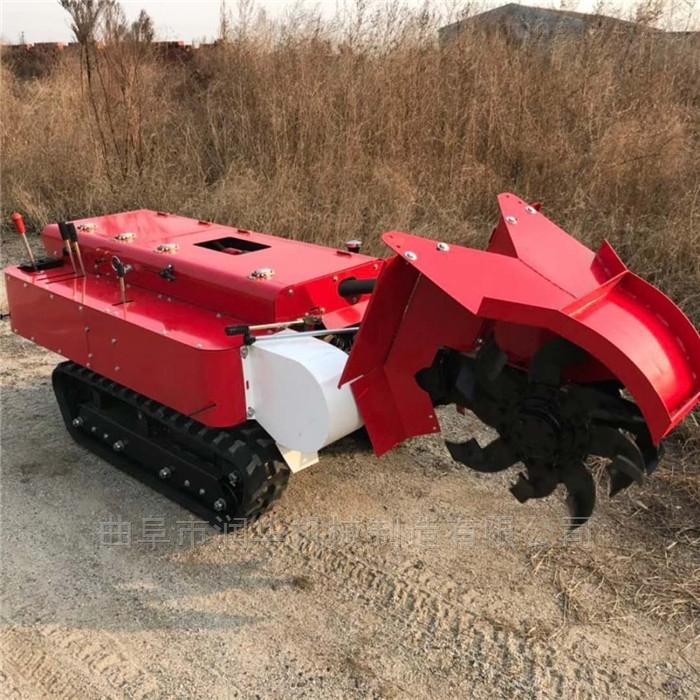 蔬菜大棚施肥開溝機 電啟動履帶式施肥機