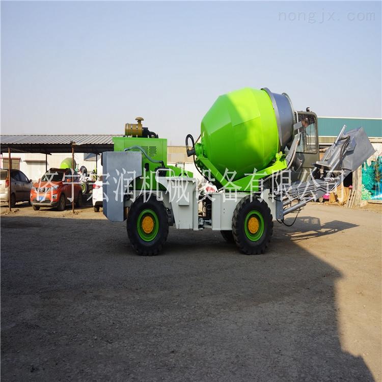 宏润 小型混凝土搅拌车建筑工地1.6-2.6方小型水泥搅拌运输罐车