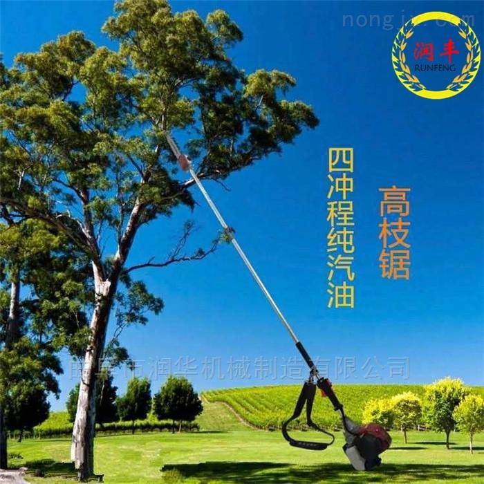 園林樹木修剪汽油高枝鋸 手持式高空剪枝機