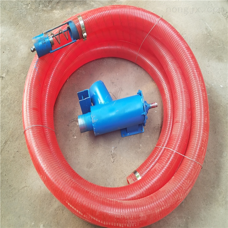 汽油机带的抽粮机 螺旋式车载吸粮机