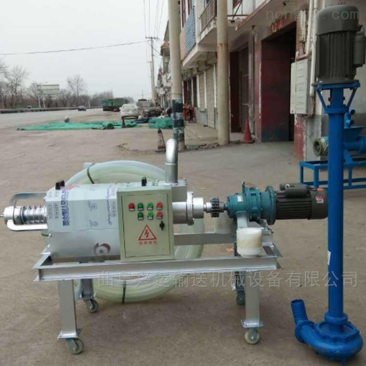 养殖污水处理设备 生产工厂 干湿分离机粪便固液脱水机投资回收快xy1干湿分离