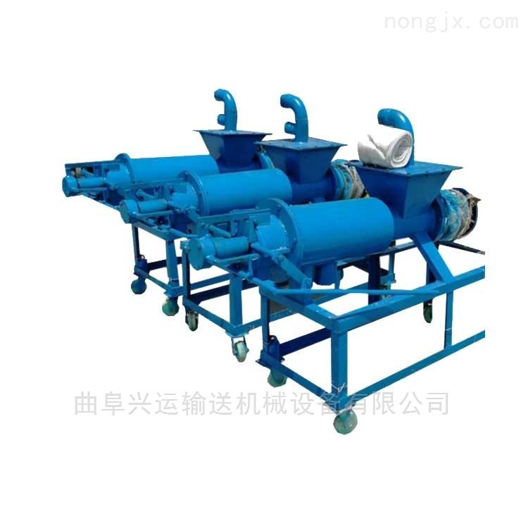 螺旋挤压机 多少钱一台 干湿分离机粪便可以处理牛粪xy1干湿分离机
