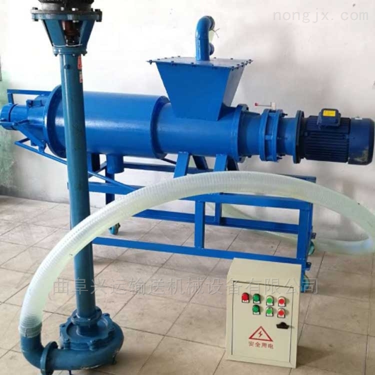 养殖污水处理设备 大功率 粪便干湿分离机固液分离器处理屠宰污水,xy1干湿分
