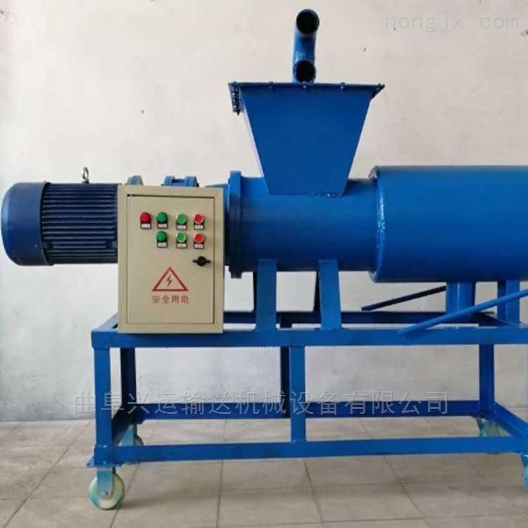 干湿分离机猪粪脱水 重量轻 斜筛网固液分离机可以处理各种粪便处理淀粉渣xy1