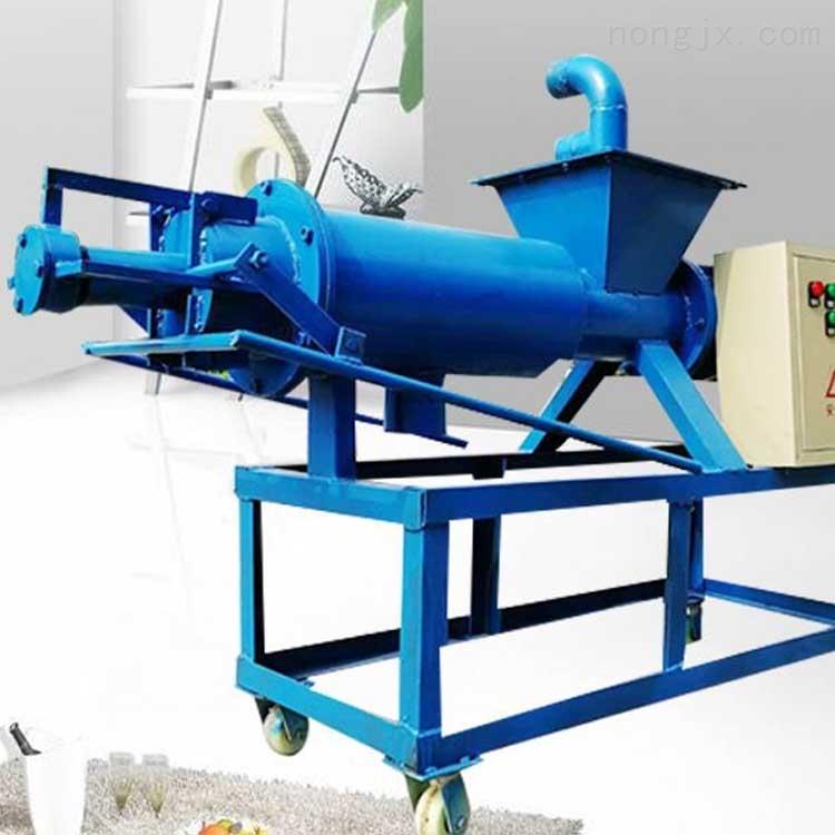 猪粪鸡粪干湿分离机 设计新颖 粪便干湿分离机牛粪固液分离机可以处理猪粪xy1