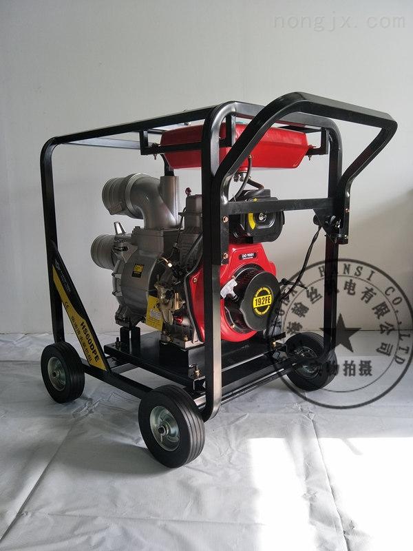 厂家供应城市防汛6寸柴油机抽水泵