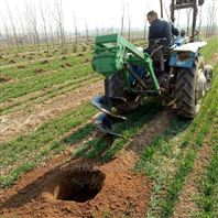 樹木種植專用打坑機 家用螺旋式挖坑機
