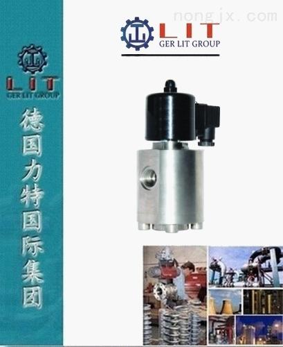 进口先导式高压电磁阀 德国力特LIT品牌