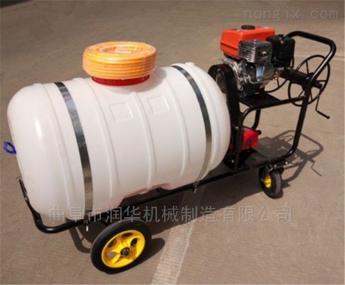 拉管打药汽油喷雾器 麦田柴油自走式喷药机
