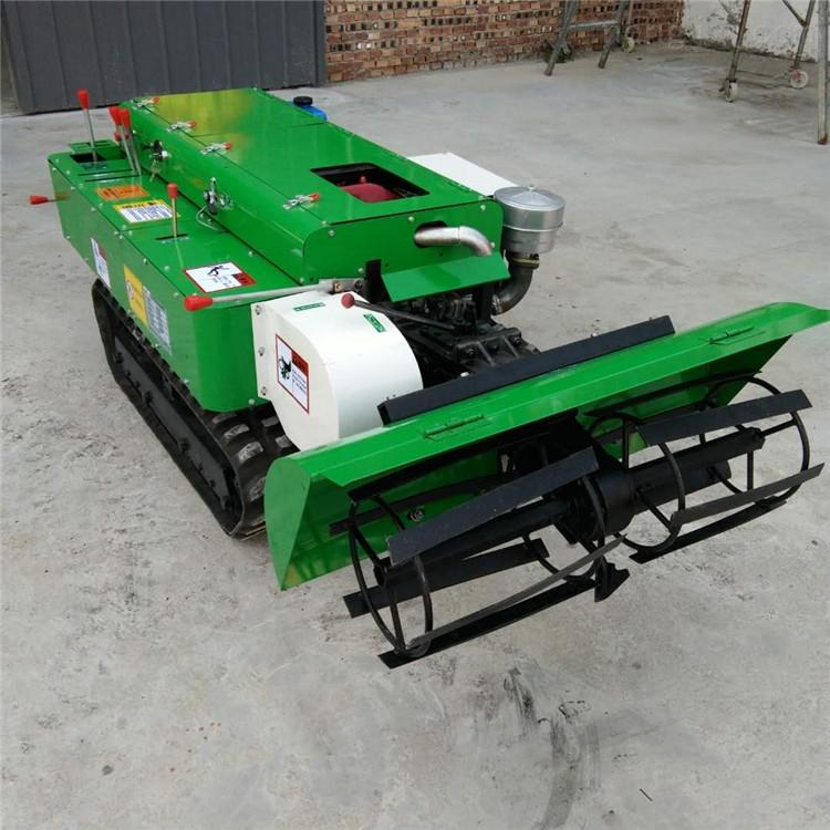 一机五大功能 履带式微耕机 果树快速施肥机