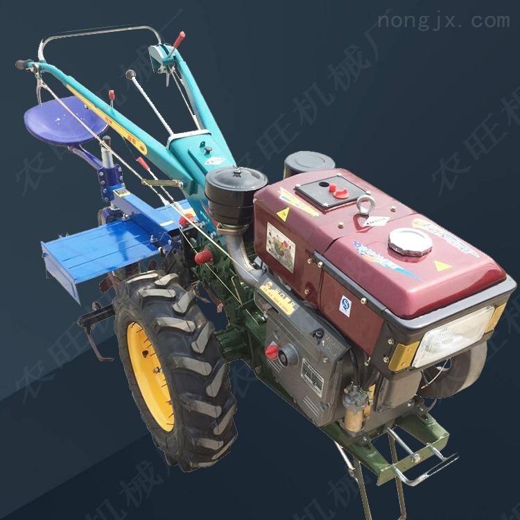 手扶拖拉机耕地机水冷柴油手扶拖拉机