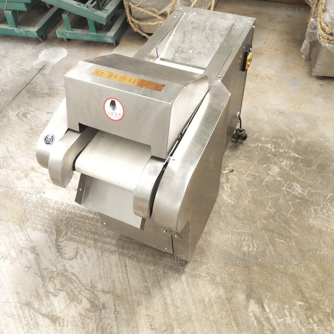 660型商用电动切菜机 薄厚可调地瓜切片机