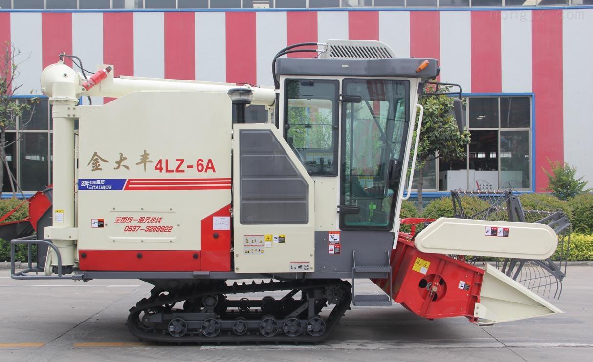 4LZ-6A履带式全喂入谷物联合收割机