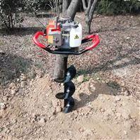 汽油螺旋打眼挖坑机 手提式打坑机