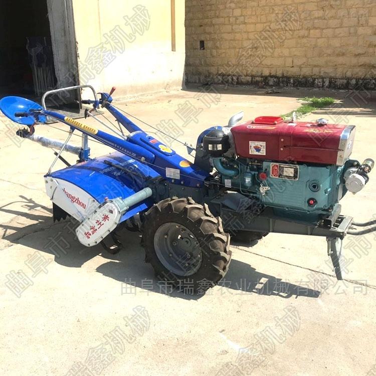 新款手扶旋耕机 柴油大马力拖拉机
