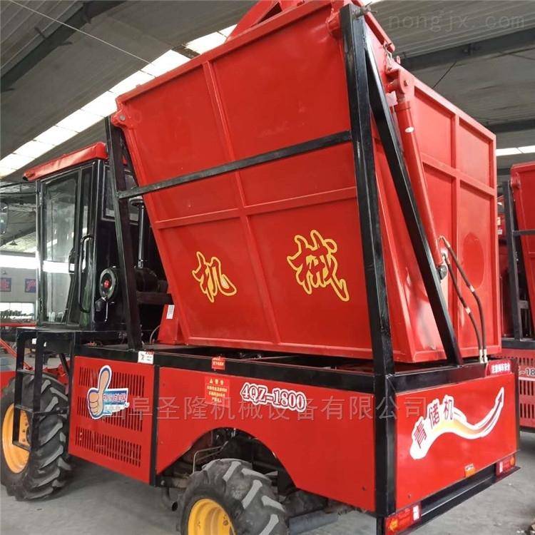 自走式青贮机玉米秸杆收割机的价格