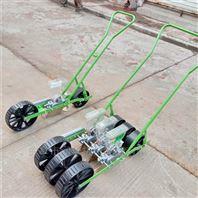 花卉藥材手推式播種機 自走式大蔥精播機