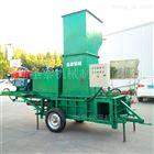 ZYW-160青储玉米压块机秸秆打包机厂家