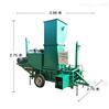 圣泰青储秸秆压块机  卧式两缸打包机