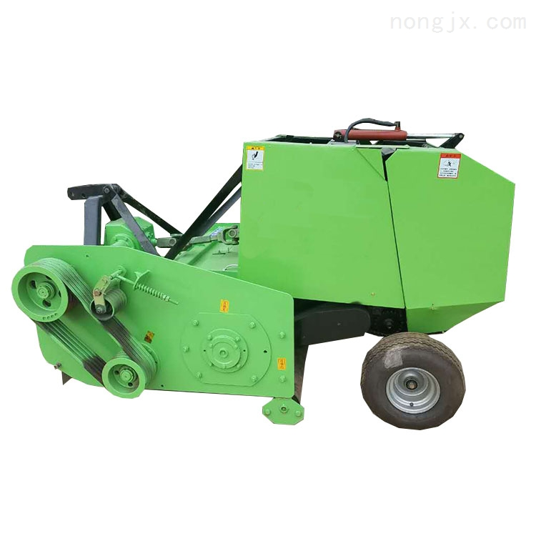 多功能拖拉机牵引牧草秸秆粉碎青贮打捆机