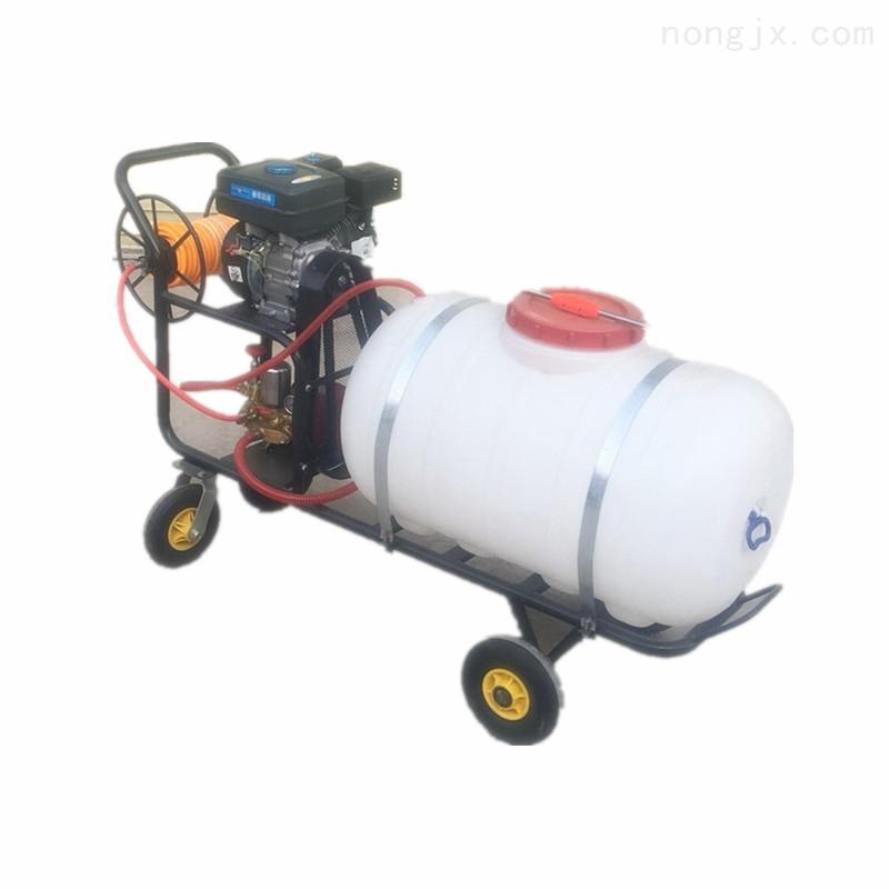 小麦四轮悬挂式喷雾机 农场果树园林打药机