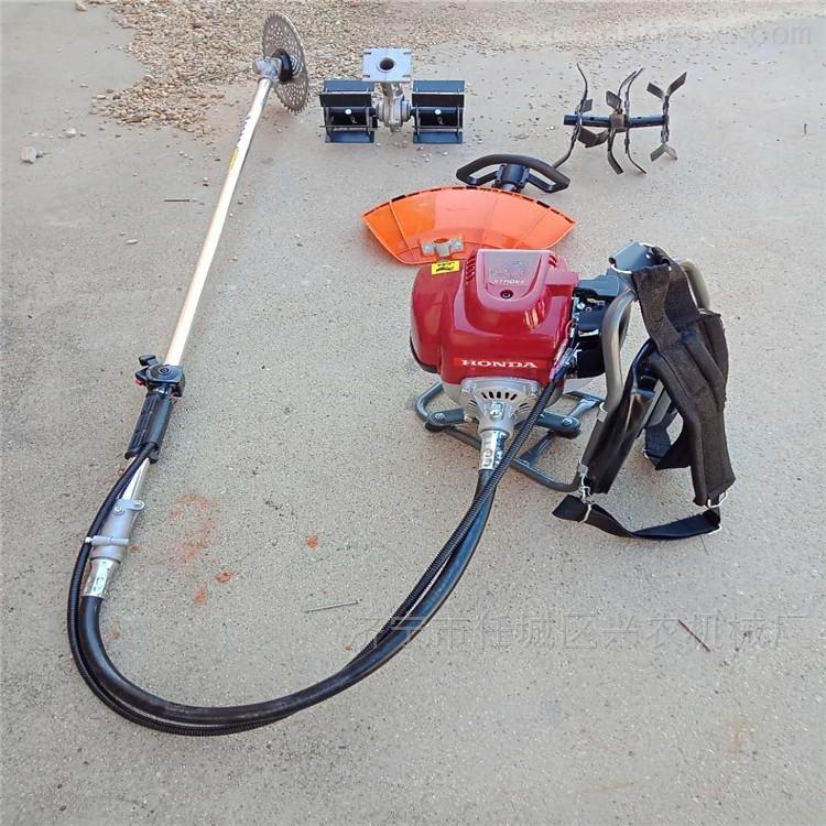 背负式汽油割草机 家用玉米除草机